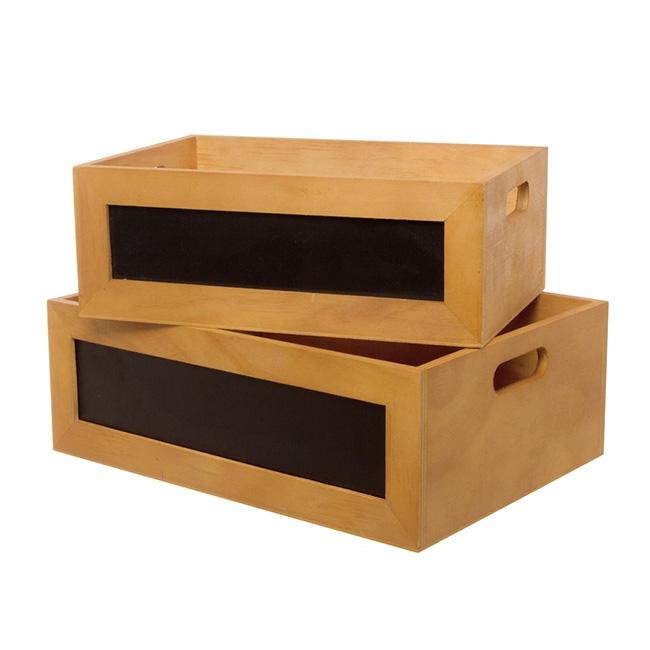 Wooden Crate | Dry Food | Fruit | Vegetables | Display