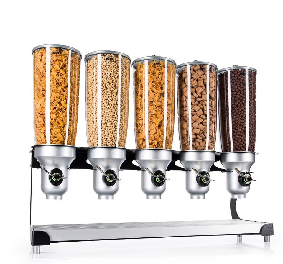 Snack Food Dispenser D50-BL-FF