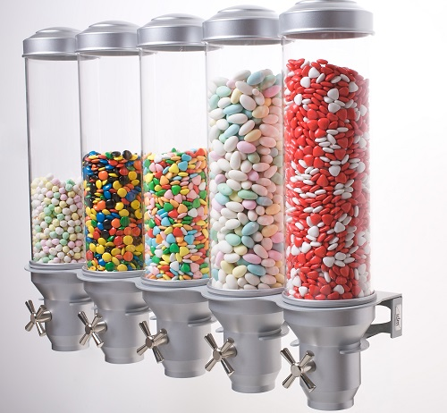 Candy Dispenser Wall Mounted H50