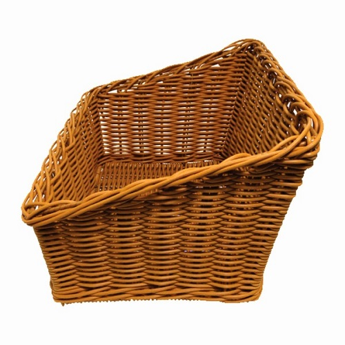 Polywicker Basket Slanted Rectangle