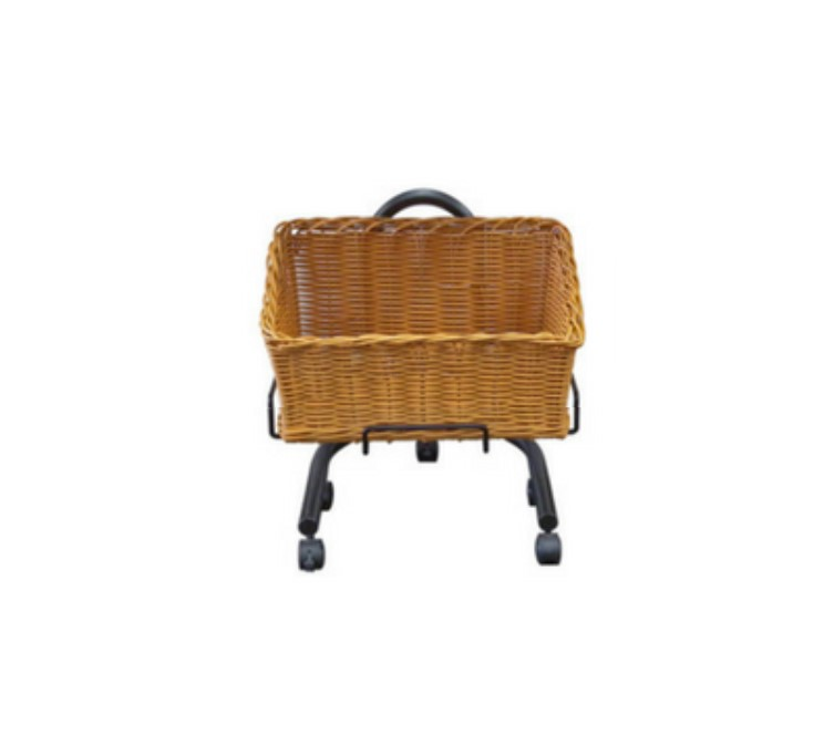 Polywicker Slanted Baskets Single Stand