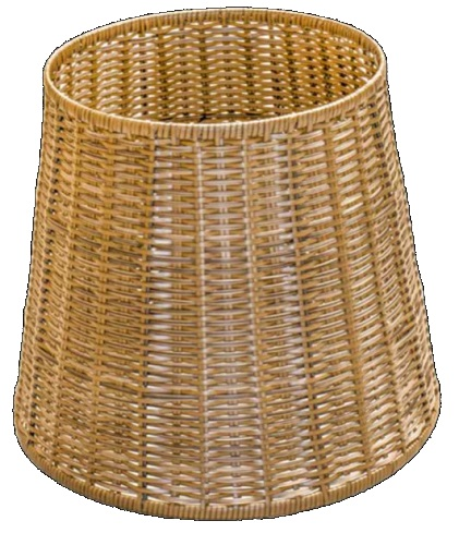 Polywicker Display Basket Small Round base