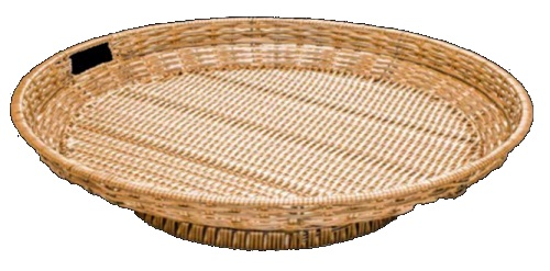 Polywicker Display Basket Large Round