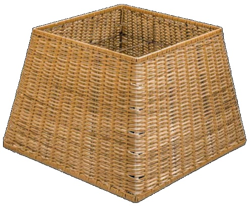 Polywicker Display Basket Medium Square base