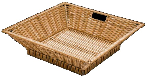 Polywicker Display Basket Square Basket Small