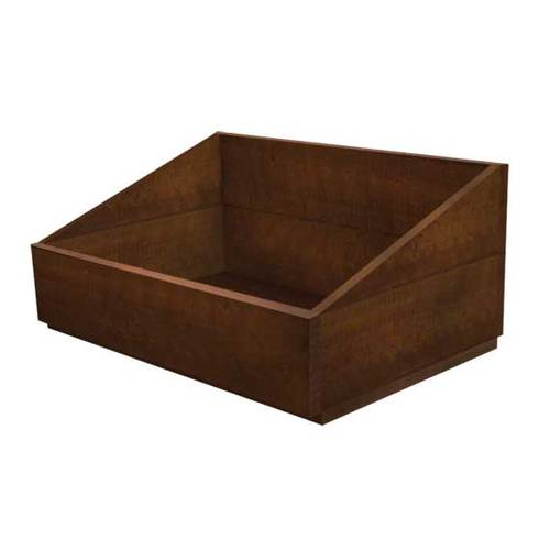 Wooden Crate | Rectangle with side slant | Dry Food | Vegetables | Dog Treats | Displays crates | packing Crate